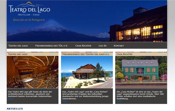 Webseite des Freundeskreises des Teatro del Lago